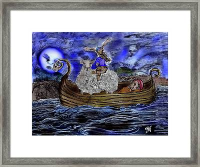 I Would  Framed Print by Cynthia Richards