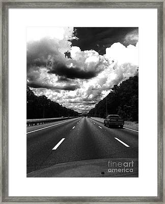 I95 Clouds Framed Print by WaLdEmAr BoRrErO