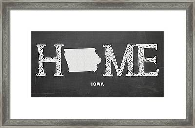 Ia Home Framed Print