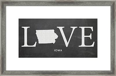 Ia Love Framed Print
