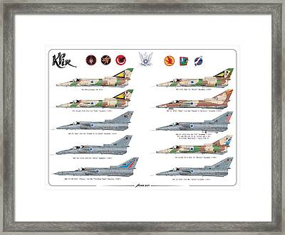Iaf All Times Iai Kfir Framed Print
