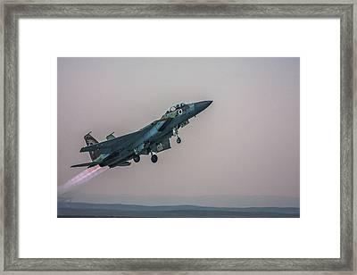 Iaf F-15i Ra'am Framed Print