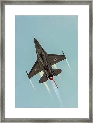 Iaf F-16i Sufa Framed Print