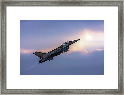 Iaf F-16i Sufa Nr. 107 Framed Print