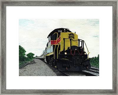 Iais716 Framed Print
