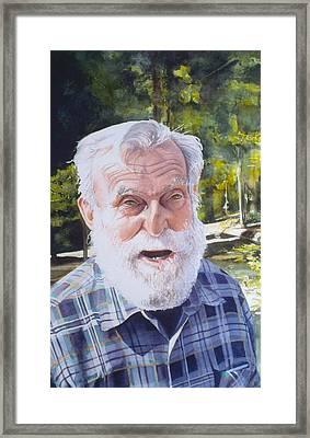 Ian Framed Print