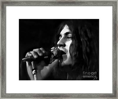 Ian Gillan Framed Print