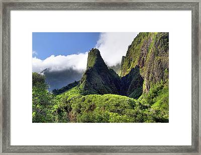 Iao Needle  Framed Print by Pierre Leclerc Photography