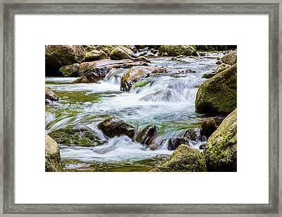 Iao Stream Framed Print by Kelley King