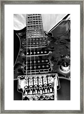 Ibanez Guitar Framed Print