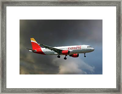 Iberia Express Airbus A320-214 Framed Print