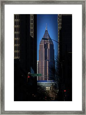 Ibm Tower Framed Print
