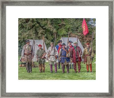 Ibwcp Proctor's Militia Framed Print