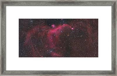 Ic 2177 - Seagull Mosaic Framed Print