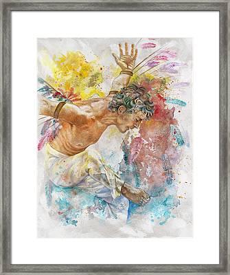 Icarus Framed Print by Rineke De Jong