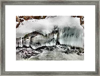 Ice 3 Framed Print by Rick Couper