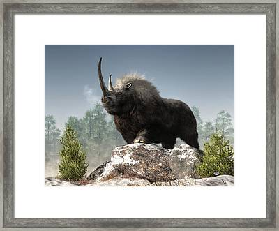 Ice Age Tough Framed Print