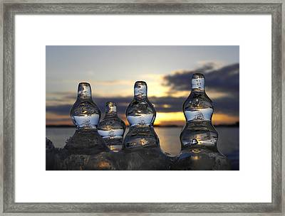 Framed Print featuring the photograph Ice And Water 3 by Sami Tiainen