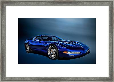 Ice Blue C5 Framed Print by Douglas Pittman