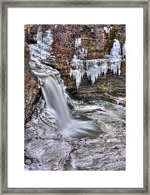 Ice Breaker Framed Print