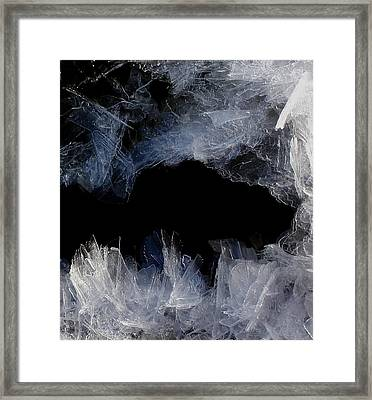 Ice Cave Framed Print
