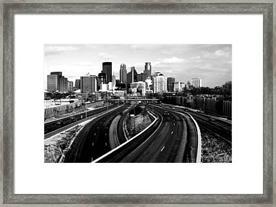 Ice City Framed Print