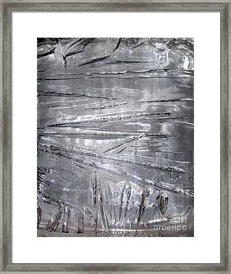Ice-cold Day Framed Print