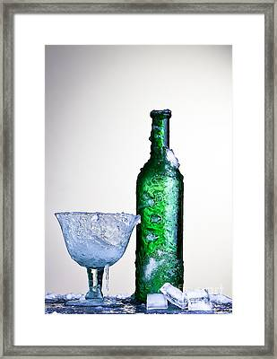 Ice Cold Drink Framed Print by Dirk Ercken