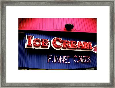 Ice Cream Anyone Framed Print