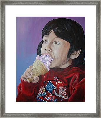 Ice Cream Framed Print by Kevin Callahan