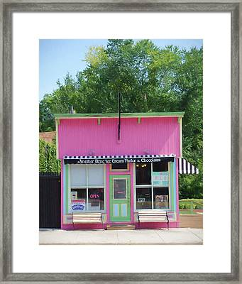 Ice Cream Parlor Framed Print