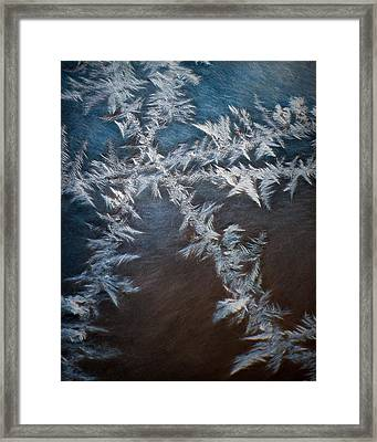 Ice Crossing Framed Print by Scott Norris