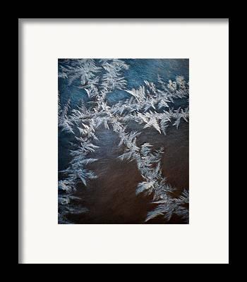 Ice Crystal Framed Prints