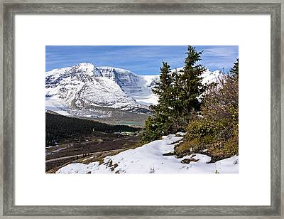 Framed Print featuring the photograph Ice Fields by John Gilbert