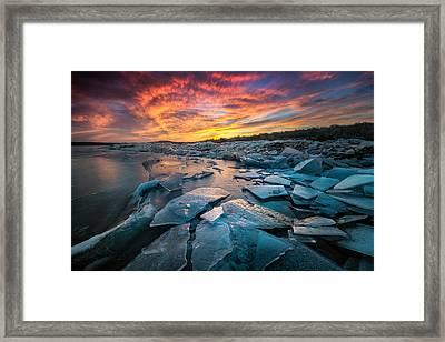 Ice Floe Framed Print