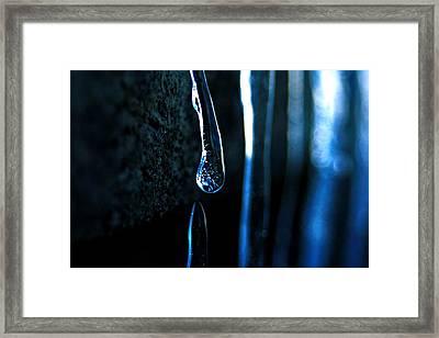 Ice Formation 09 Framed Print
