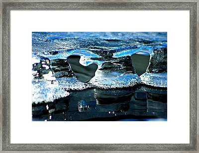 Ice Formation 10 Framed Print