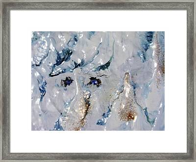 ice Framed Print by HollyWood Creation By linda zanini