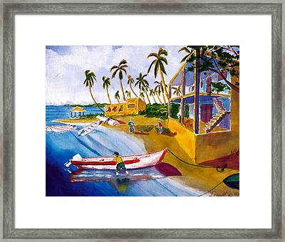 Ice House Framed Print by Buster Dight