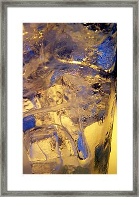 Ice Ice Baby Framed Print by Vijay Sharon Govender
