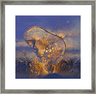 Framed Print featuring the photograph Ice Land by Sami Tiainen