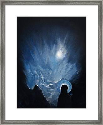 Ice Maria Framed Print by Aleksei Gorbenko