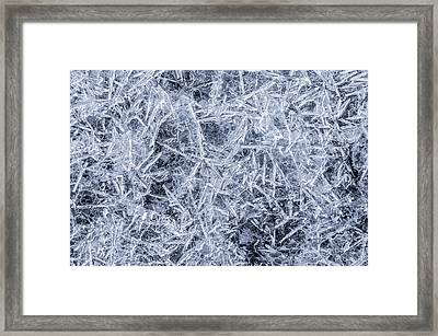 Ice On Minnehaha Creek 3 Framed Print