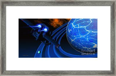 Ice Planet Framed Print by Corey Ford