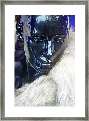 Ice Queen Framed Print by Jez C Self