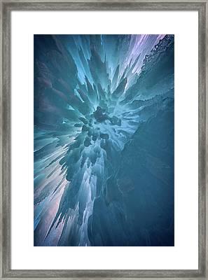 Ice Framed Print by Rick Berk