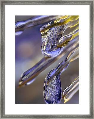 Ice Storm II Framed Print