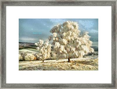 Ice Three - Da Framed Print