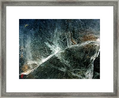 Ice Winter Denmark Framed Print