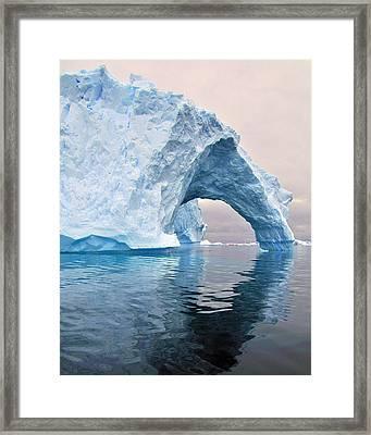 Iceberg Alley Framed Print by Tony Beck